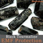 black tourmaline EMF protection